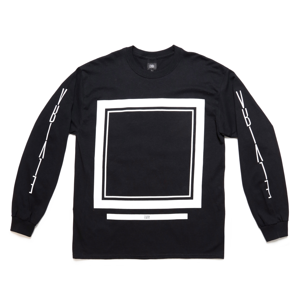 FRAME LS T-SHIRT -BLACK-