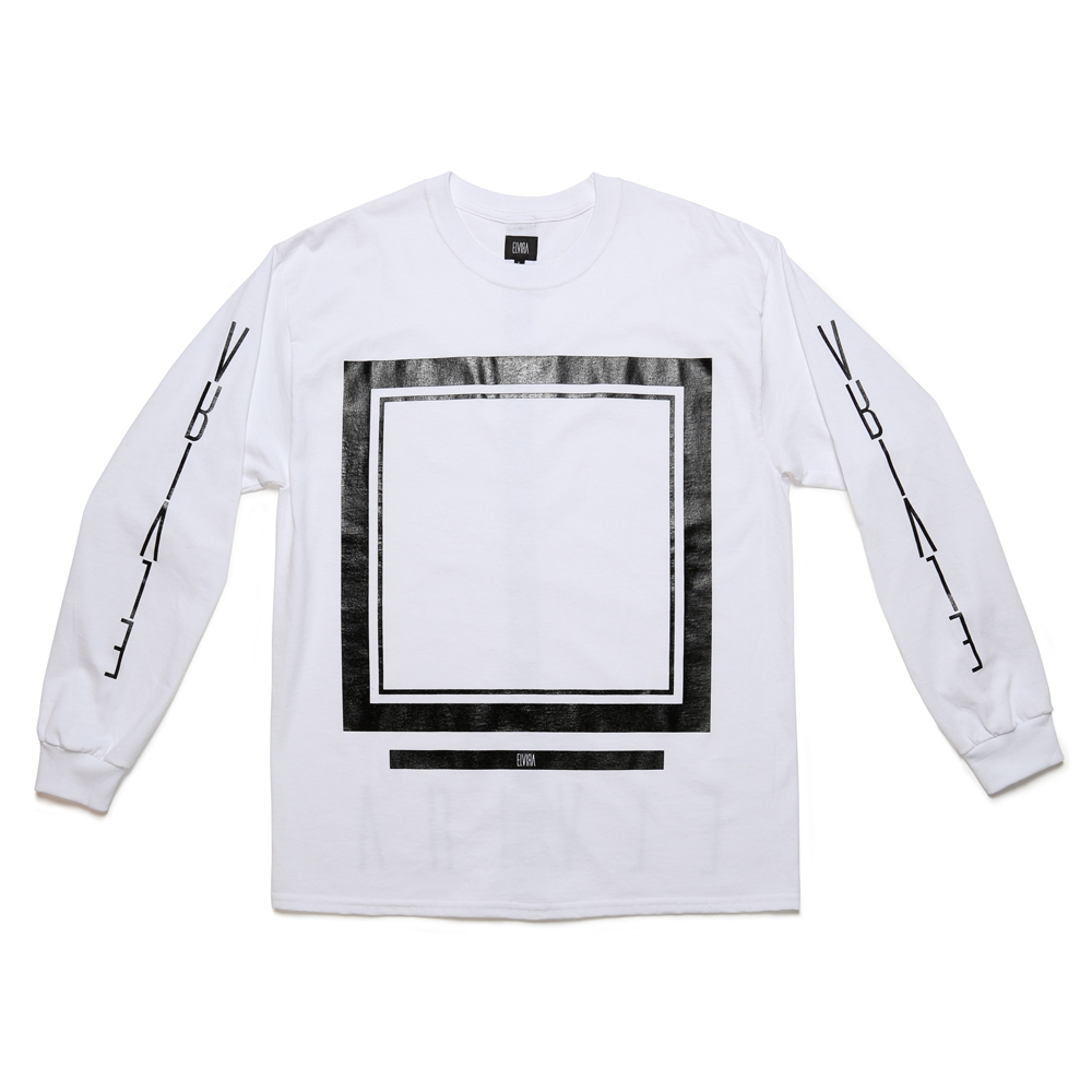 FRAME LS T-SHIRT -WHITE-