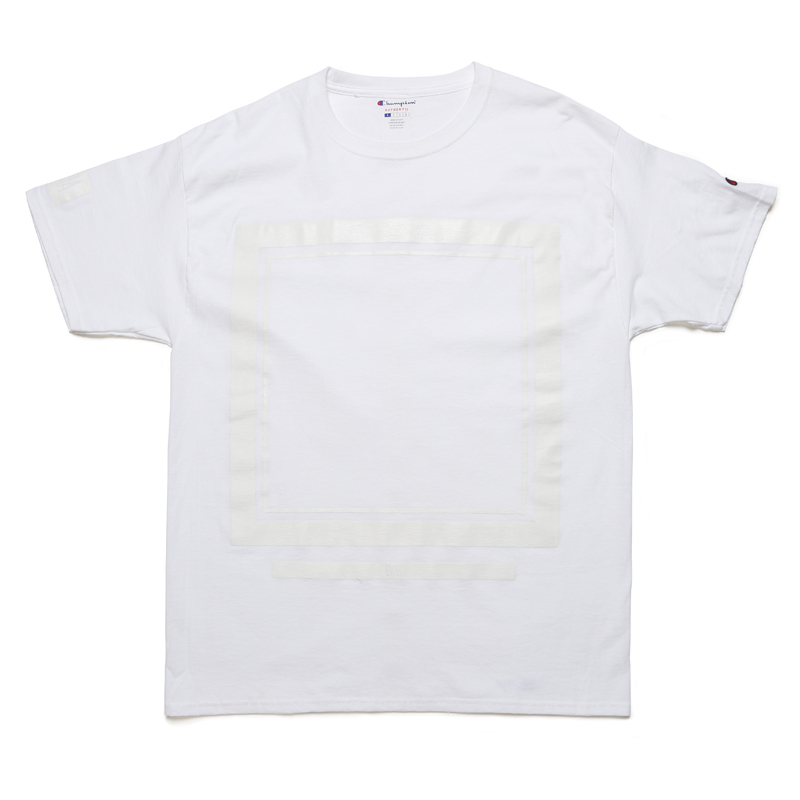 FRAME SOLID T-SHIRT -WHITE-