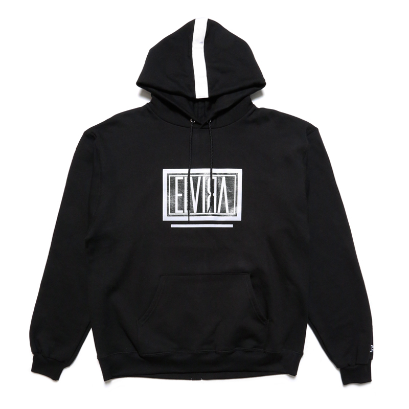 BOX HOODY -BLACK-