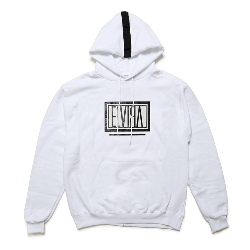 BOX HOODY -WHITE-