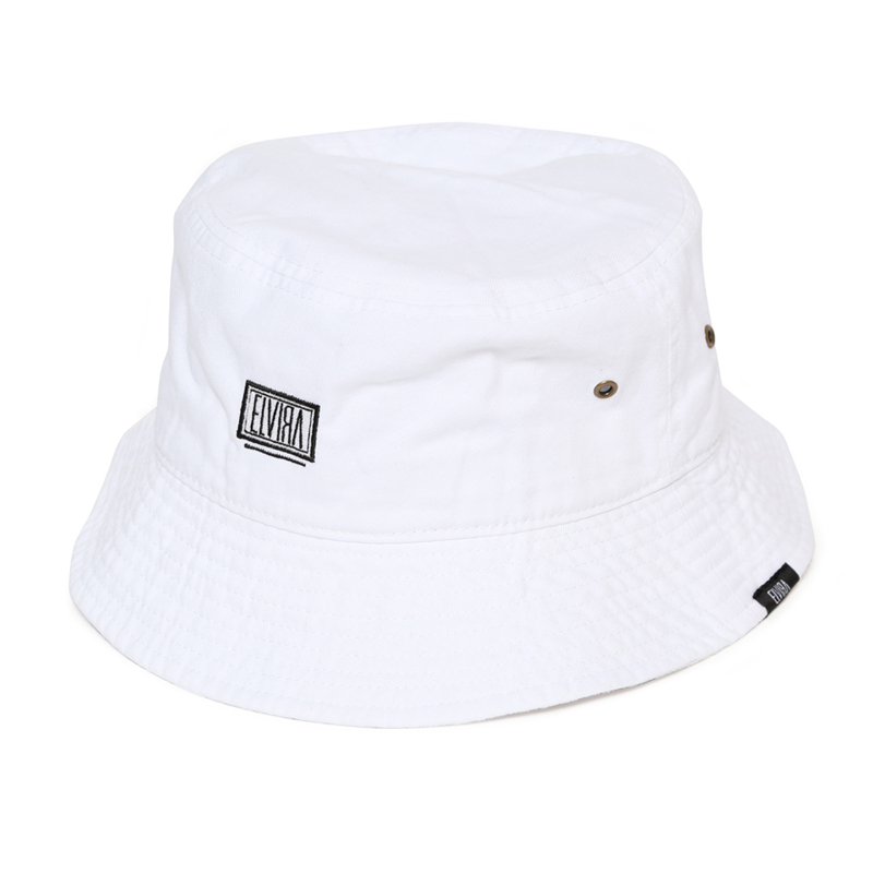 BUCKET HAT -WHITE-