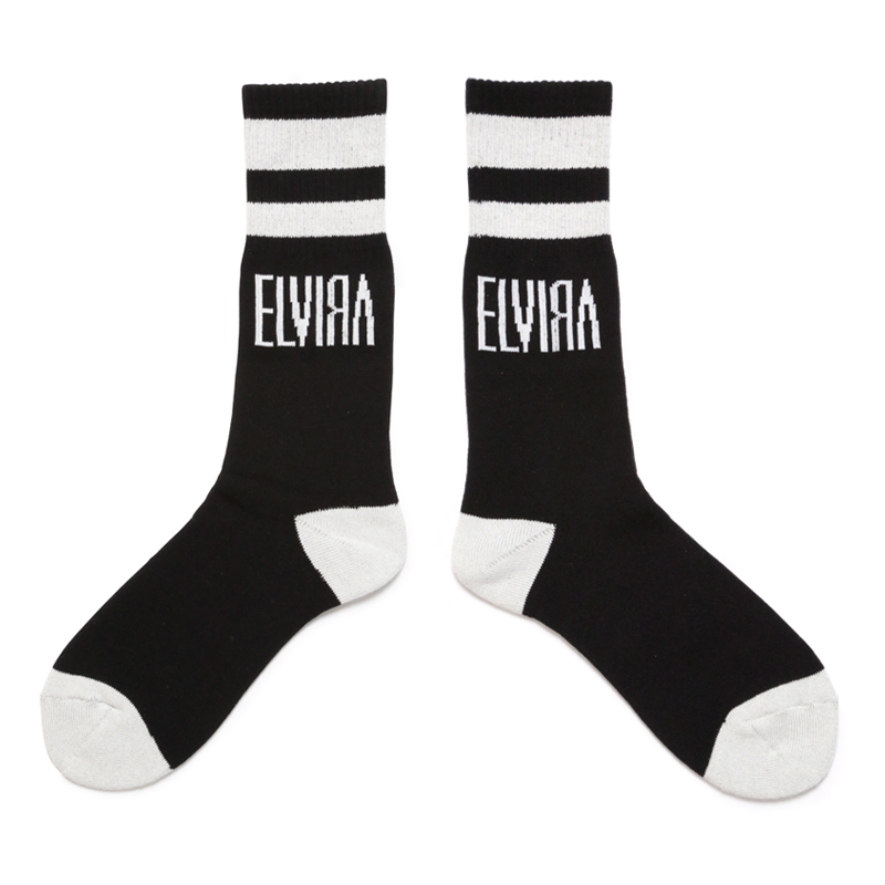 SOCKS -BLACK-