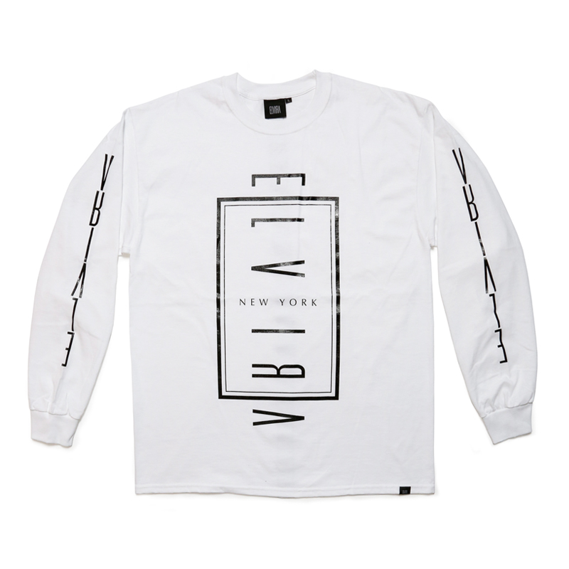 ELVIRA NYC L/S T-SHIRT -WHITE-