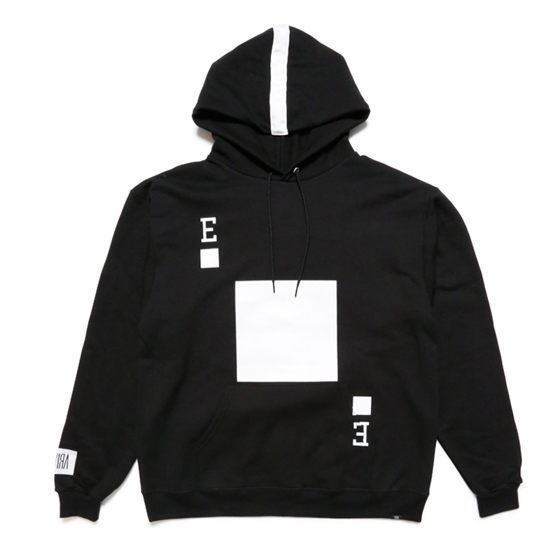 PLAYING CARD HOODY -BLACK-