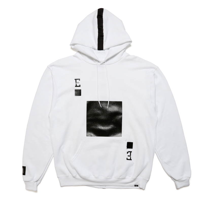 PLAYING CARD HOODY -WHITE-