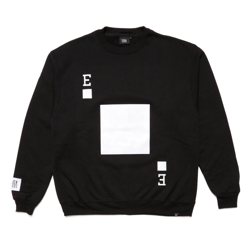 PLAYING CARD CREW SWEAT -BLACK-