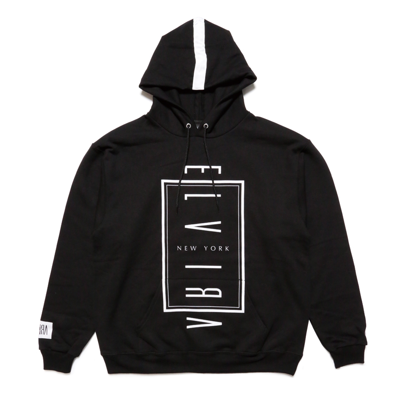 NYC HOODY -BLACK-
