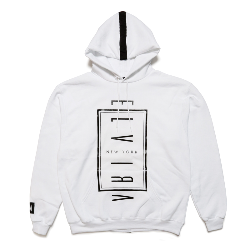 NYC HOODY -WHITE-