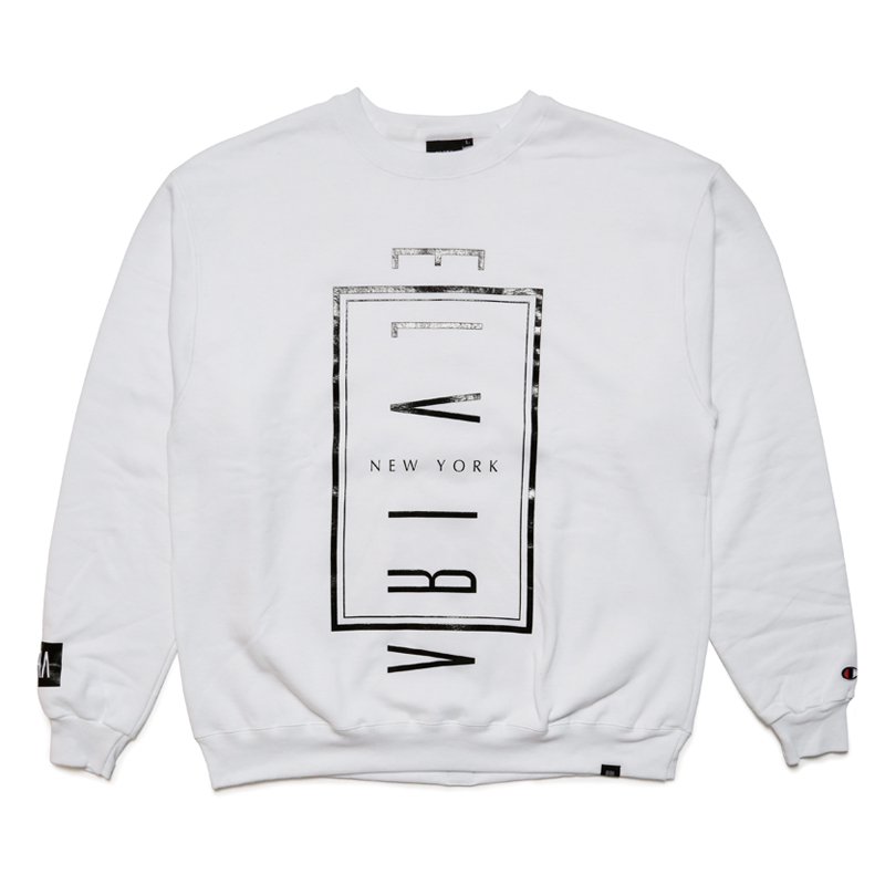 NYC CREW SWEAT -WHITE-