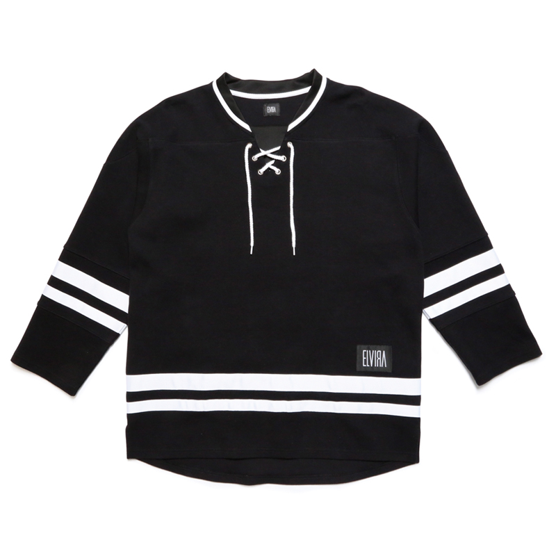 HOCKEY JERSEY -BLACK-