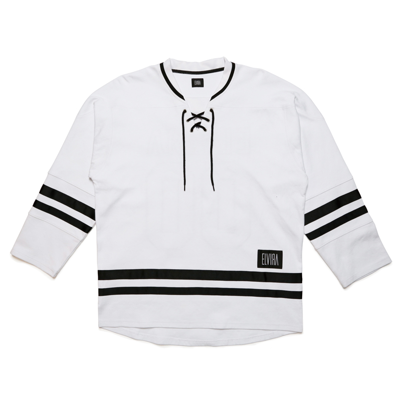 HOCKEY JERSEY -WHITE-