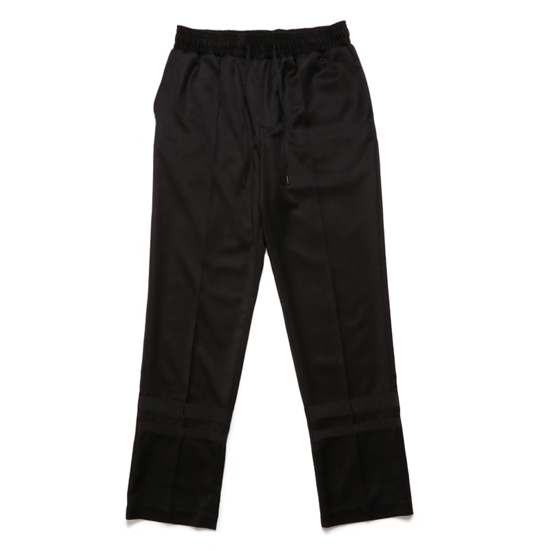 TROUSERS -BLACK×BLACK-