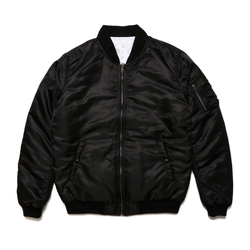 MA-1 REVERSIBLE JACKET -BLACK×BLACK-