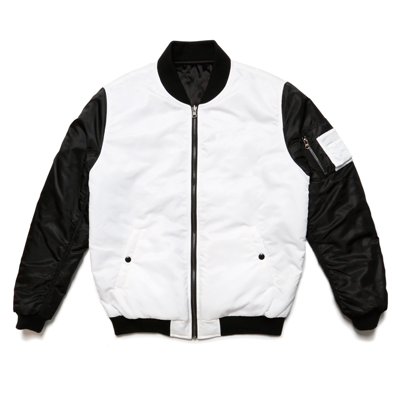 MA-1 REVERSIBLE JACKET -BLACK×WHITE-