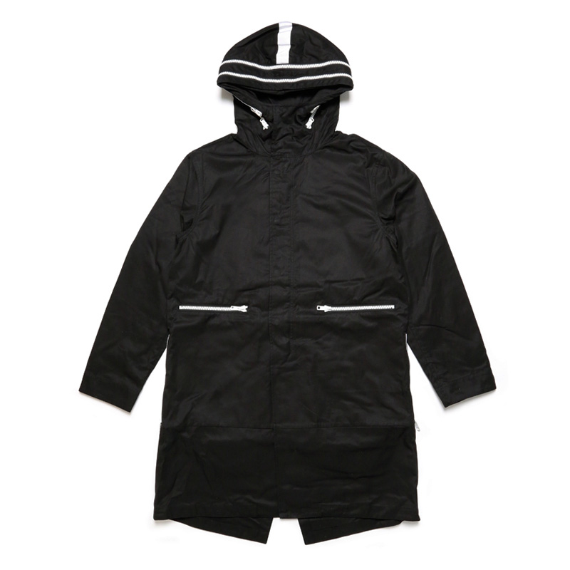 M-51 PARKA -BLACK×WHITE-