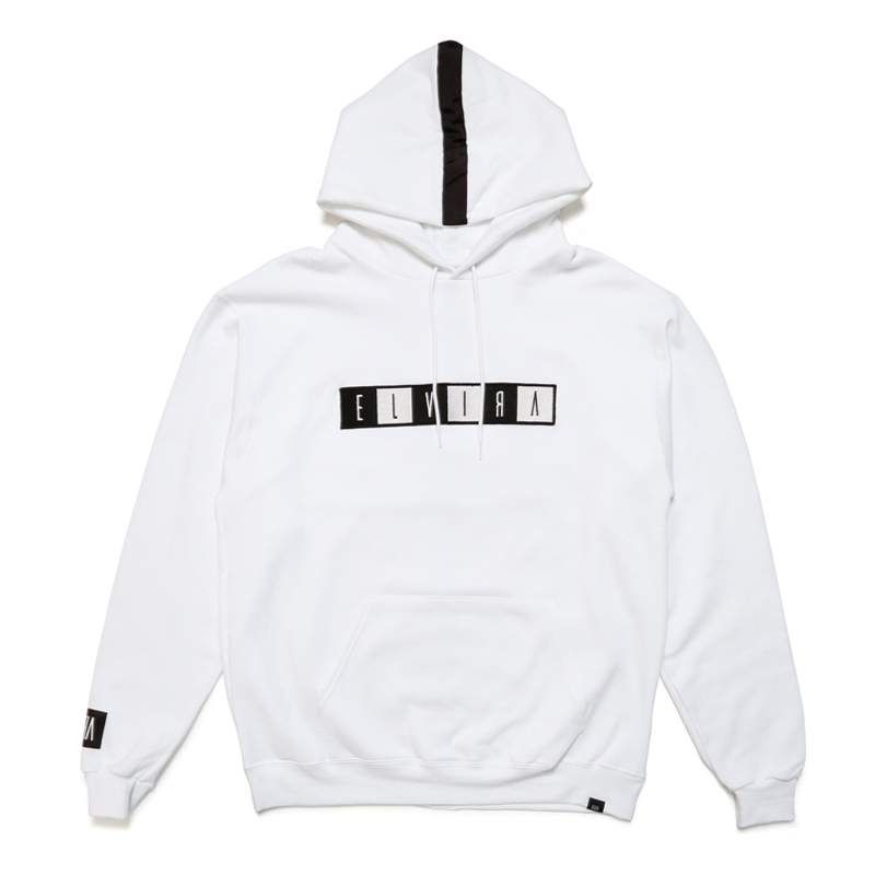 BOX WAPPEN HOODY -WHITE-