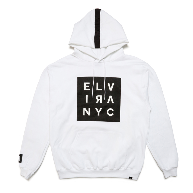 SQUARE NYC HOODY -WHITE-