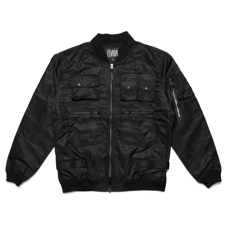 FATIGUE JACKET  -BLACK-