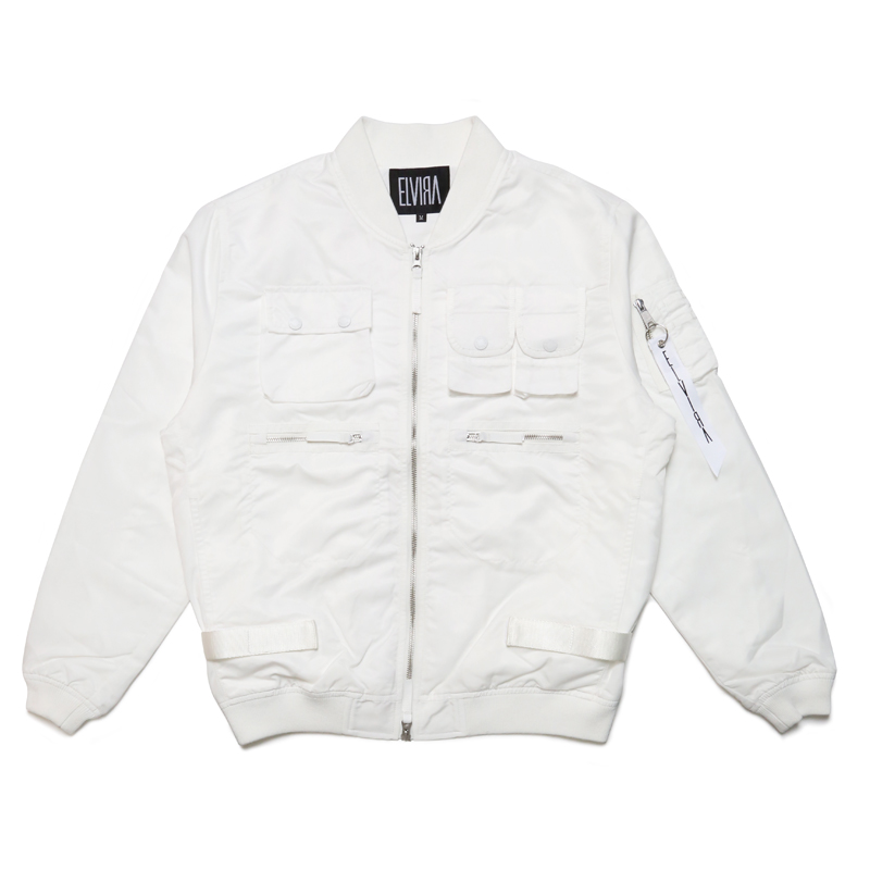 FATIGUE JACKET  -WHITE-