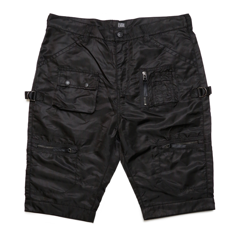 FATIGUE SHORTS -BLACK-