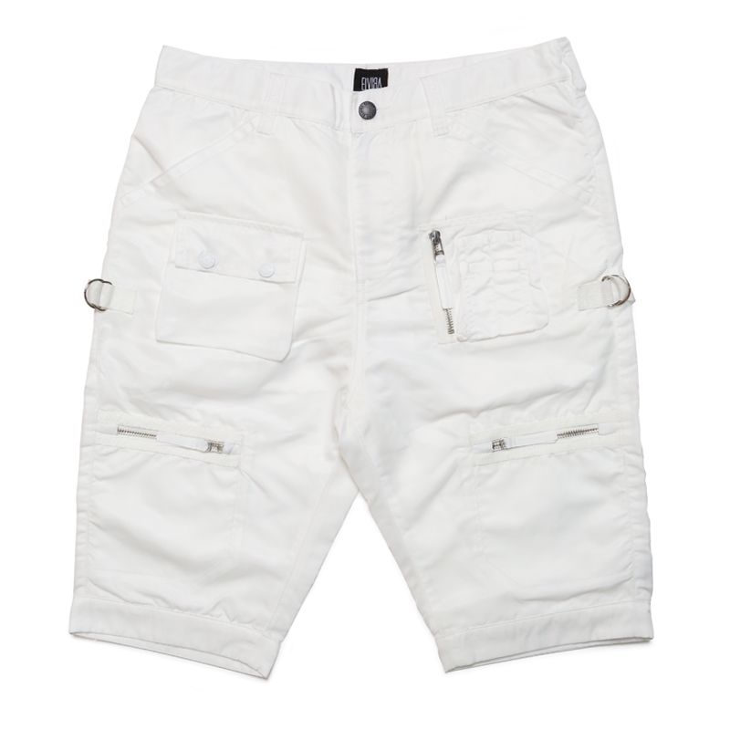 FATIGUE SHORTS -WHITE-