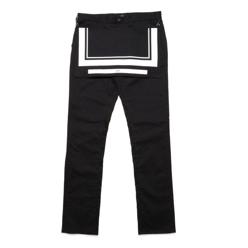 APLON LONG PANTS -BLACK-