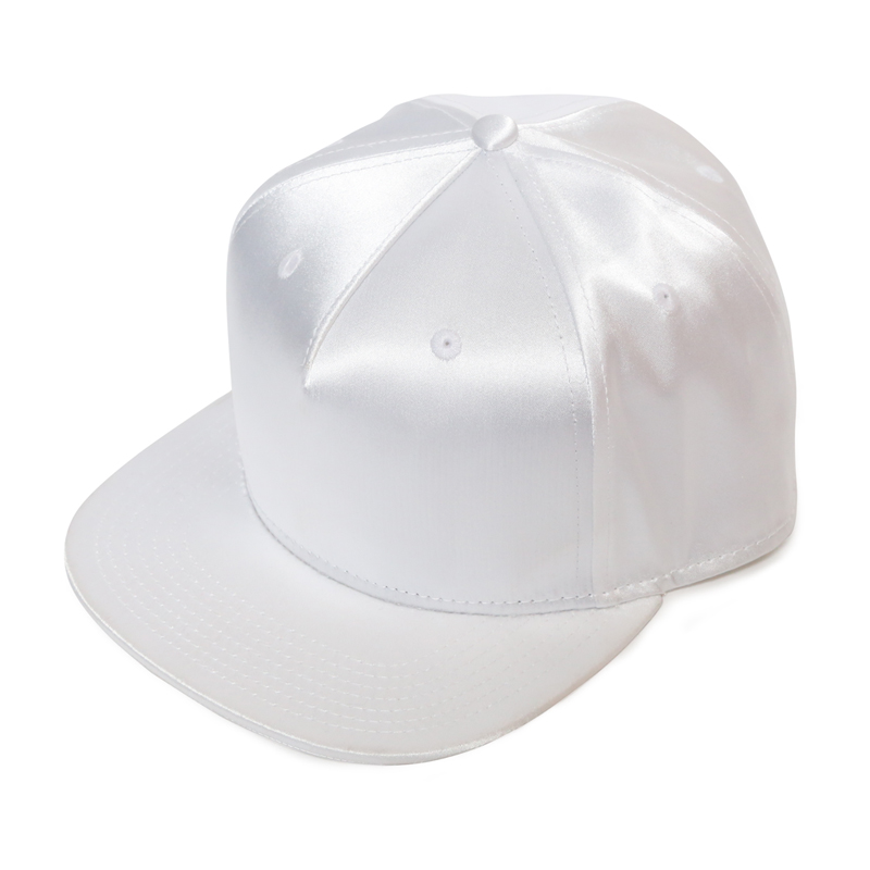 SATIN CAP  -WHITE-