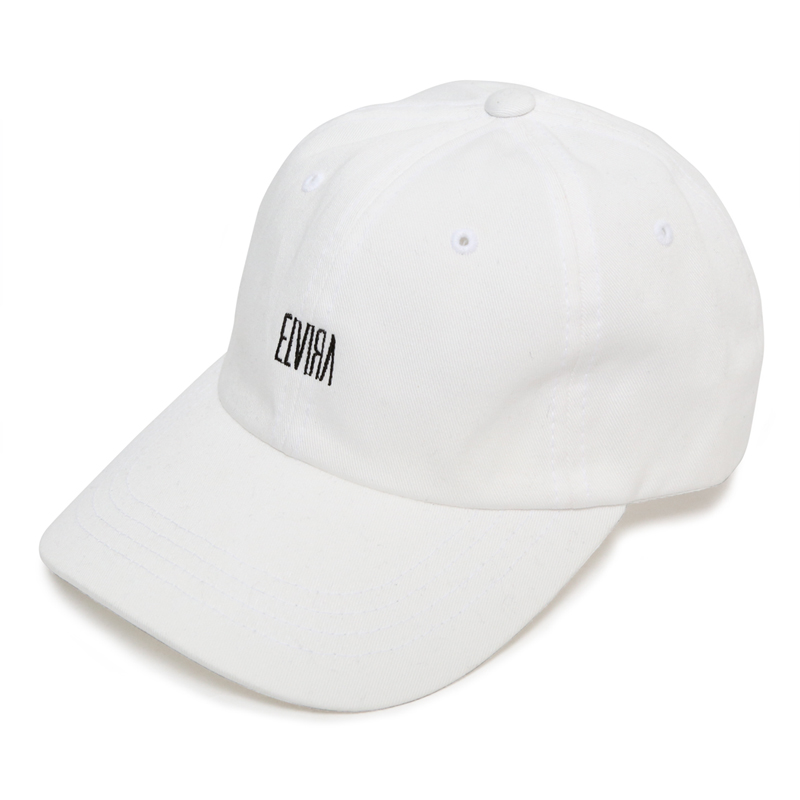 ELVIRA LOW STRAP CAP  -WHITE-