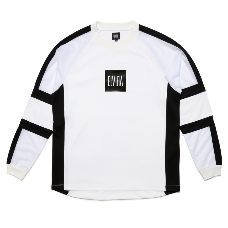 RACING JERSEY -WHITE-
