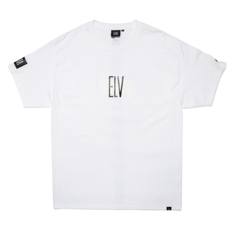 ELV T-SHIRT -WHITE-