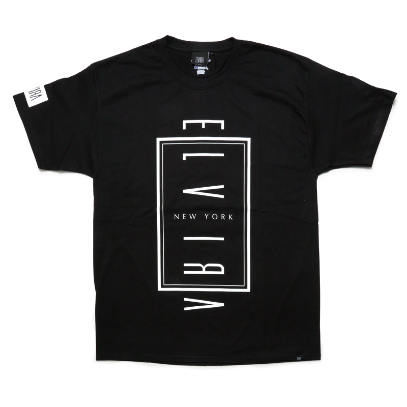 ELVIRA NYC T-SHIRT -BLACK-