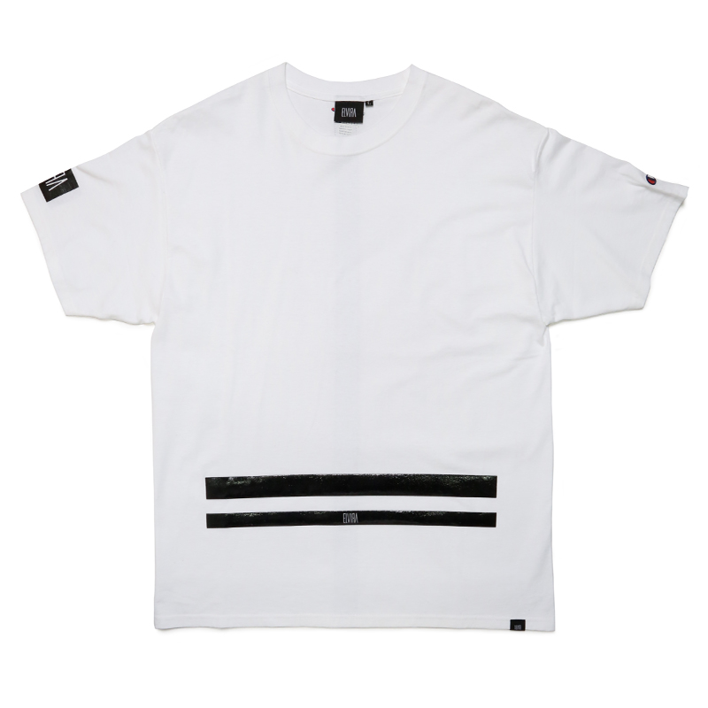 UNDERLINE T-SHIRT -WHITE-