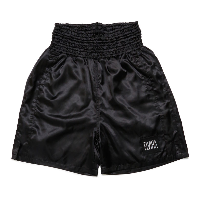 BOXER SHORTS -BLACK×BLACK-