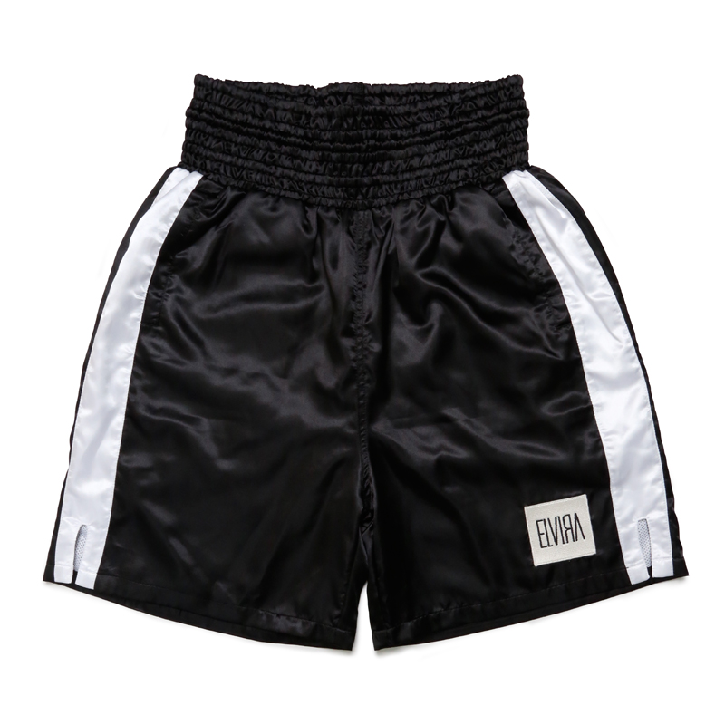 BOXER SHORTS -BLACK×WHITE-