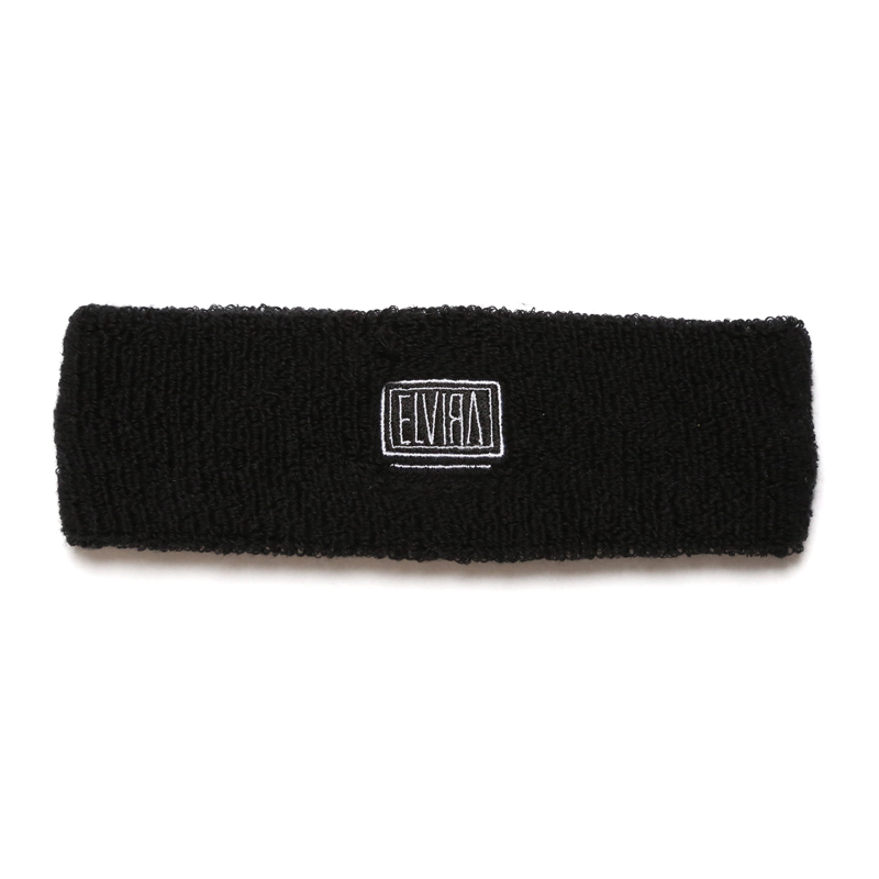 BOX HEADBAND -BLACK-