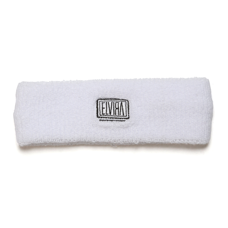 BOX HEADBAND -WHITE-