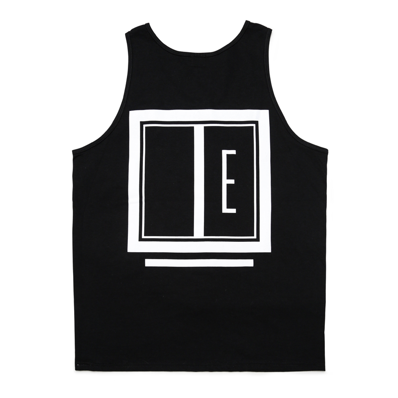 E FRAME TANK TOP -BLACK-