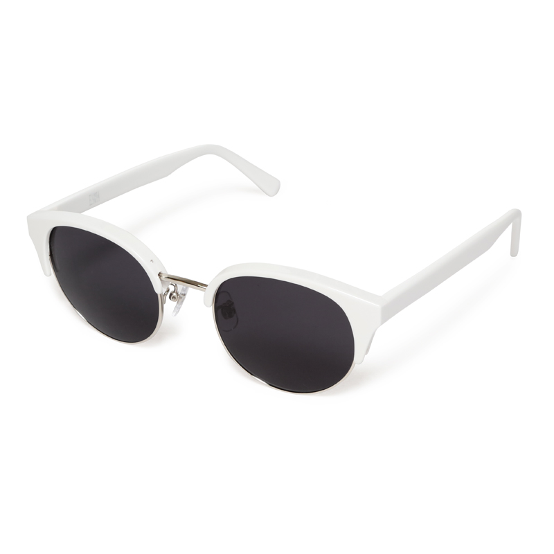 BLOW SUNGLASSES -WHITE-