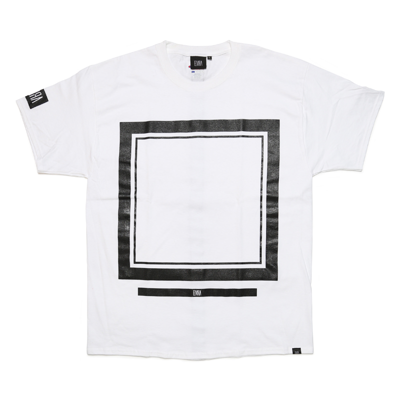 FRAME T-SHIRT -WHITE-
