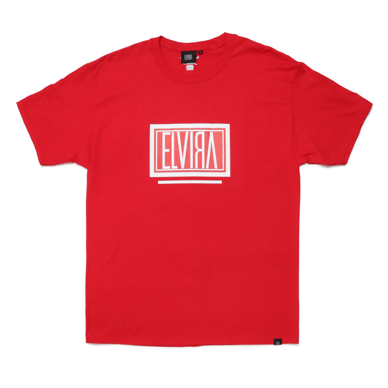 BOX T-SHIRT -RED-
