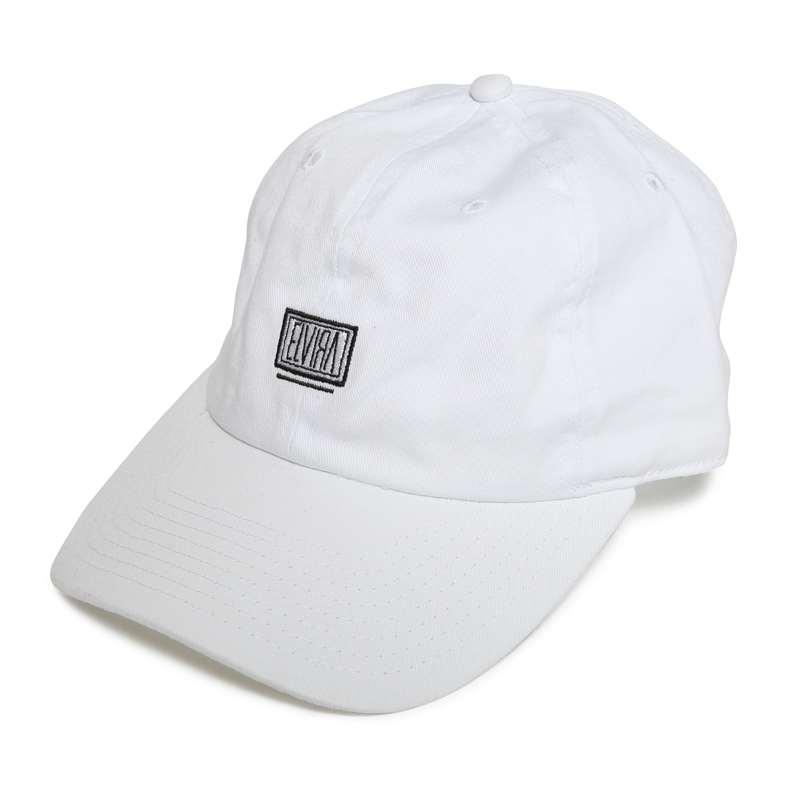 BOX LOW STRAP CAP -WHITE-