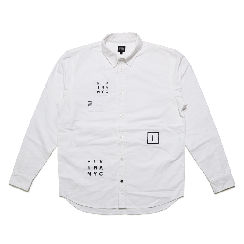 ANARCHY L/S SHIRT -WHITE-