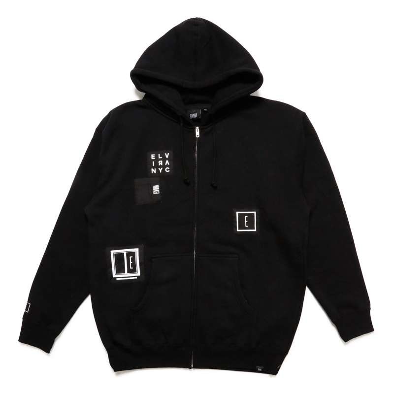 ANARCHY ZIP FOODY -BLACK-