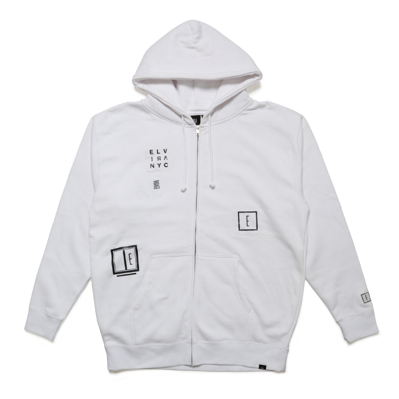 ANARCHY ZIP FOODY -WHITE-
