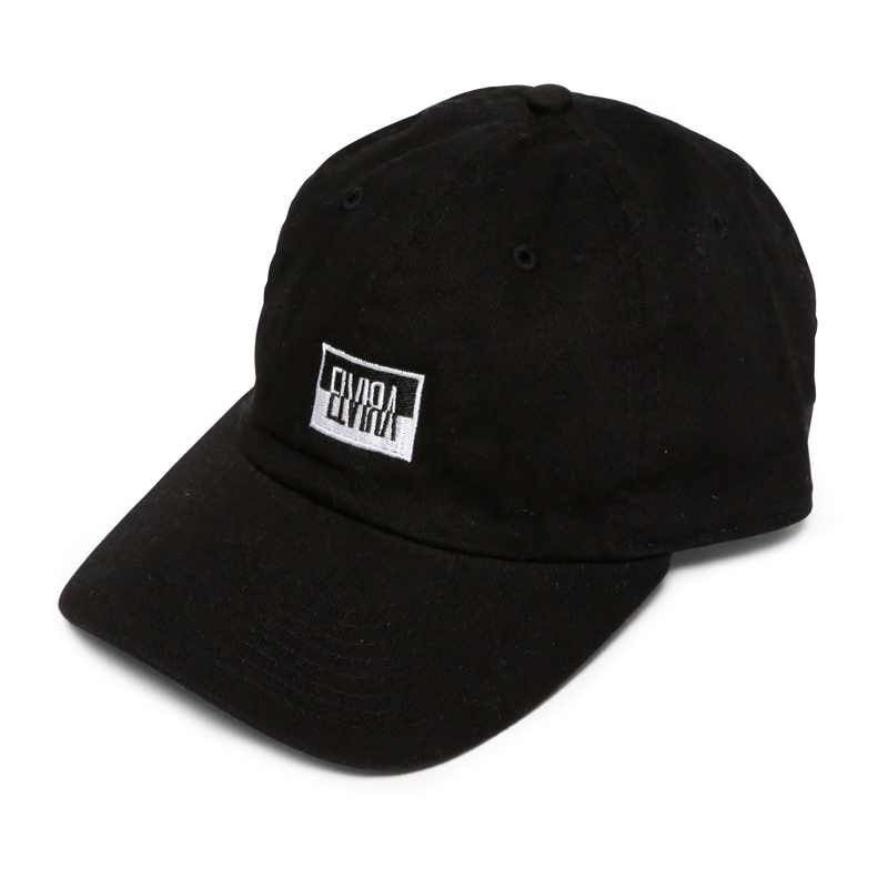 REVERSAL BOX LOW CAP -BLACK-