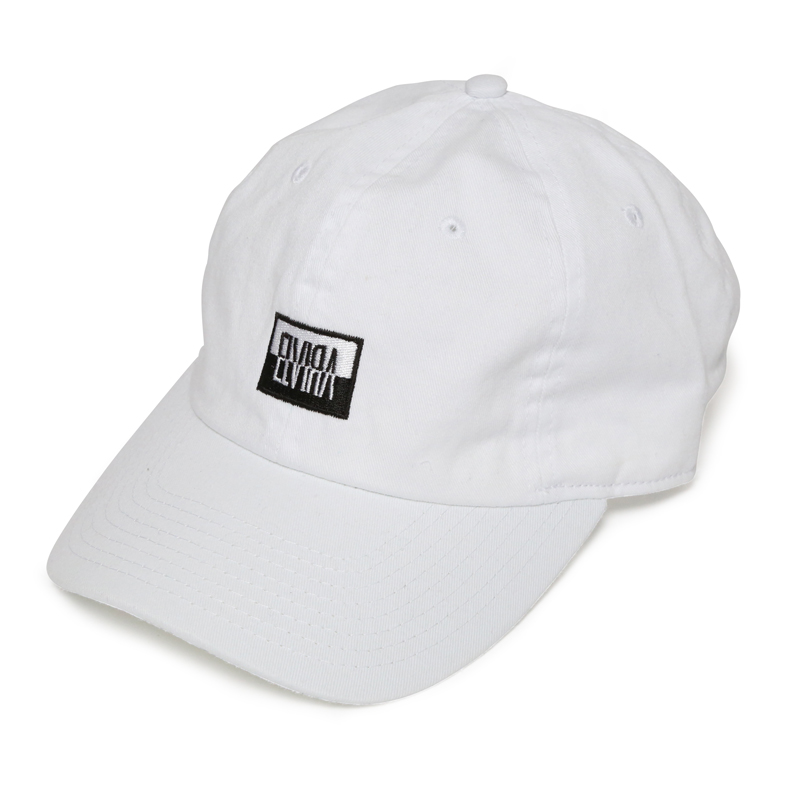 REVERSAL BOX LOW CAP -WHITE-